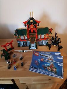 lego ninjago 70728 Complete With Instructions & Minifigures