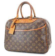Authentic LOUIS VUITTON Deauville Monogram Hand Bag Purse #36579