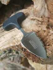 """Tactical Neck Knife / Boot Serrated Blade Stainless Steel - Compact 3.5"""" 9920"""