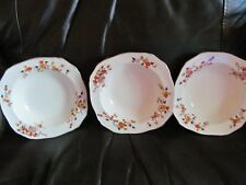 set of 3 alfred meakin windmill dutch scene 7 inch bowls