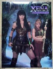 Xena Warrior Princess 24 X 18 Inch Chromium Print