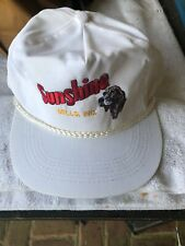 Vintage Sunshine Golf Style Hat White