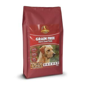 Dog & Field - Grain Free Adult Dog Food – Duck & Sweet Potato 1kg & 12kg Bags