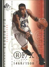 1999-00 SP Authentic Cleveland Cavaliers Basketball Card #98 Andre Miller Rookie