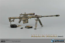 "ZY Toys 1/6 Camouflage Barrett Sniper Rifle M82A1 Model Fit 12"" Action Figure"