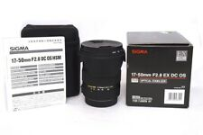 OBIETTIVO SIGMA 17-50MM F2.8 EX DC OS PER CANON AF