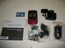 Unlocked Blackberry Gemini Curve 8520 Gsm Cell Phone. Fuchsia Red. New In Box!