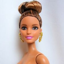 Barbie Fashionistas Doll #54 African American  Brunette Brown eyes