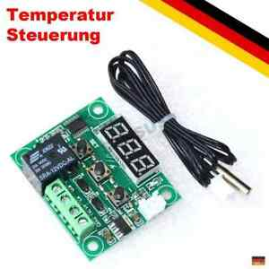 Relais Lüfter Temperatur-Steuerung Aquarium PC 12V Thermostat Temperaturregler