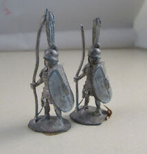 Pair of Vintage Fantasy Miniatures RAL PARTHA Hoplites AN 300 D&D Roman
