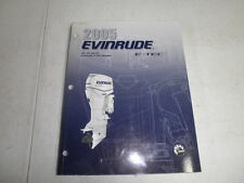 2005 Evinrude Etec factory outboard motor service manual 40 50 60 hp