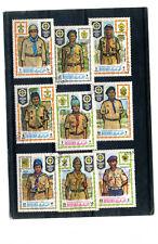 Francobolli BOY SCOUTS MAMAMA dendency of Ajman - WORLD JAMBOREE 1971