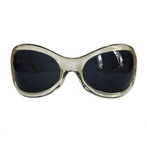 HALSTON Sunglasses Made In Italy, Rare Vintage, EyeWear, Bug Eye, Mod, Jackie O