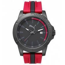 Sportliche PUMA Armbanduhren mit Silikon -/Gummi-Armband