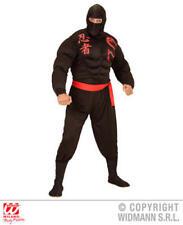 Mens Male Adult Super Ninja Fancy Dress Costume Outfit S