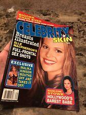 Celebrity Skin Magazine Mar 1995: Stowe, Preston, Malika Kinison, Dickinson