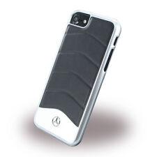 ORIGINALE Mercedes-Benz Wave Pelle Hard Cover Case Guscio Per iPhone 7-8