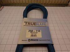 """Stens  258-113    5/8""""X113""""   Drive Belt True Blue HD Heavy Duty Made in USA"""