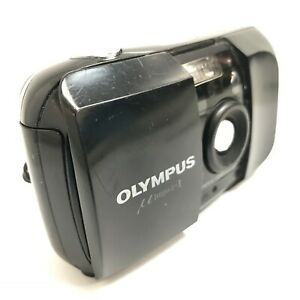 Olympus MJU I 35mm Film Camera AF Compact Point & Shoot Bulit In Flash 013040