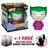 FUNKO DORBZ DC COMICS BATMAN THE JOKER S1 VINYL FIGURE + FREE DORBZ PROTECTOR