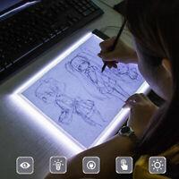 A5 LED Drawing Board Light Box Slim Tracing Pad Copy Tattoo Art Craft Stencil