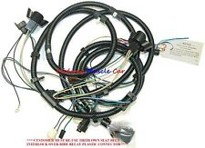 front end headlight lamp wiring harness 1974 74 pontiac gto