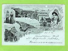 More details for early gruss aus helgoland heligoland pc used 1899