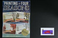 💎ART BOOK PUBLISHED BY WALTER FOSTER PAINTING THE FOUR SEASONS CARK STRICKER💎
