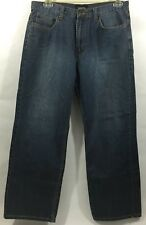 Claiborne Men's Jeans - Blue Color 100% Cotton Wash Cold - Size 32 X 30