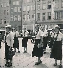 Paul Coze - DANTZIG c. 1935 - Place Jeunes Filles Pologne - DIV 8107