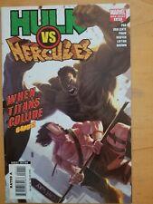 Hulk Vs. Hercules One-Shot/ When Titans Collide (2008) Marvel Comics Nice