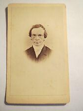 Mann mit Brille im Anzug - Portrait - ca. 1860/70er Jahre / CDV