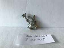 Warhammer Fantasy Dwarf king kazador metal oop missing trumpet and standard