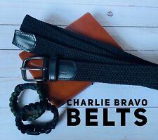 Charlie Bravo Men's Adjustable Belt Size Small