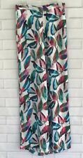 Onia Mila Women's Beach Pants Leaves Graphics Size Small