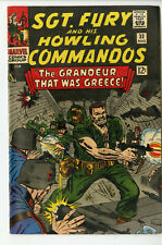 Sgt Fury and His Howling Commandos #33 Vintage 1966 Marvel Comics