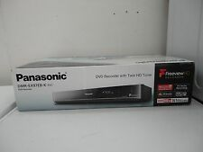 Panasonic DMR-EX97EBK 500 GB HDD Twin Tuner HD di Freeview Registratore DVD