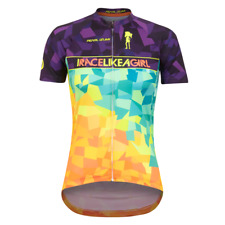 New PEARL IZUMI Women Limited Edition INTERVAL Jersey Race Like A Girl Top Small
