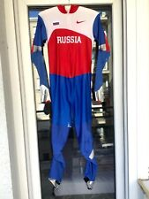 Nike Russian Team Speedskating Running Suit (Skinsuit) size S