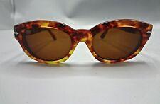 REAL Vintage Persol Ratti TORTOISE & GOLD Sunglasses 1970s Rare 830 52 18 Design