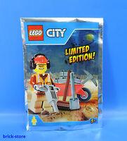 LEGO® City 951702 Limited Edition / Bauarbeiter Figur mit Zubehör / Polybag