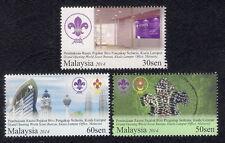 2014 MALAYSIA WORLD SCOUT BUREAU (3v) MNH