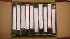 10x VHS Videos Pre-recorded Blank