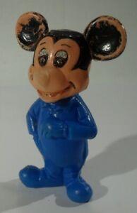 alte MICKY MAUS FIGUR aus PLASTIK Made in West Germany Disney vintage Sammler