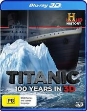 Titanic - 100 Years In 3D (Blu-ray, 2012)