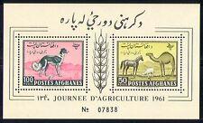 Afghanistan 1961 Dog/Horse/Animals/Nature 2v m/s n29440