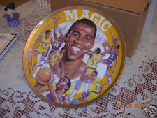 """MAGIC JOHNSON GOLD EDITION PLATE  """"LOS ANGELES LAKERS"""" BY SPORT IMPRESSION"""