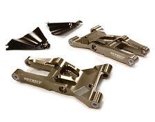 T8684GREY Integy Billet Front Lower Suspension Arms for HPI Ken Block WR8 3.0