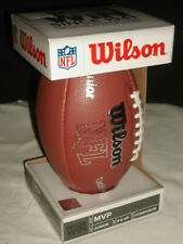 Nib Wilson Nfl Mvp Composite Dbl/ Lace Football Ball Junior Youth Wtf1414 Age 9+