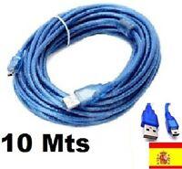 CABLE EXTENSOR USB ACTIVO-MINI USB.PARA ALFA,10M,10MTS,10 METROS,ALARGADOR WIFI
